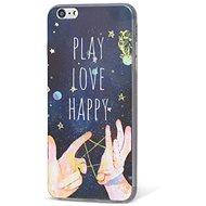 Epico Design Case iPhone 6/6S Plus Play, Love, Happy - Kryt na mobil