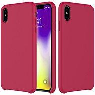Epico Silicone pro iPhone XR - tmavě růžová - Ochranný kryt