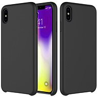 Epico Silicone pro iPhone XS Max - černý - Kryt na mobil