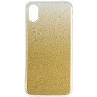 Epico Gradient pro iPhone X / iPhone XS - zlatý - Kryt na mobil