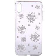 Epico White Snowflakes pro iPhone XS Max  - Ochranný kryt