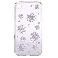 Epico White Snowflakes pro iPhone XR  - Ochranný kryt
