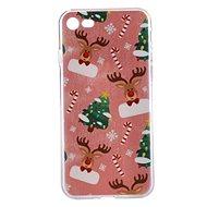 Epico Xmas Rudolf pro iPhone 7/8  - Ochranný kryt