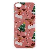 Epico Xmas Rudolf pro iPhone 5/5S/SE  - Ochranný kryt