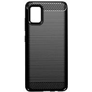 Kryt na mobil Epico Carbon pro Samsung Galaxy A51 - černý