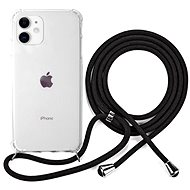 Epico Nake String Case iPhone 11 - bílá transparentní / černá - Kryt na mobil