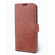 Epico Flip Case Xiaomi Redmi Note 9 - hnědé - Pouzdro na mobil