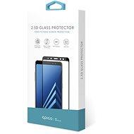 Epico Glass 2.5D pro LG G7  - černé - Ochranné sklo