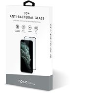 Epico Anti-Bacterial 3D+ Glass iPhone 6/6S/7/8/SE (2020) - černé - Ochranné sklo