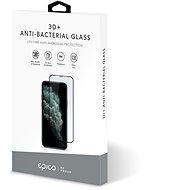 Epico Anti-Bacterial 3D+ Glass iPhone XS Max/ 11 Pro Max - černé - Ochranné sklo