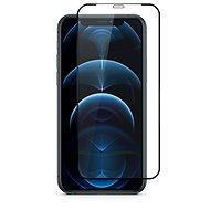 Epico Edge to Edge Glass iPhone 12/iPhone 12 Pro černý - Ochranné sklo