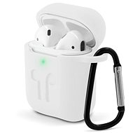 Epico OUTDOOR COVER Airpods Gen 1/2 - bílá transparentní