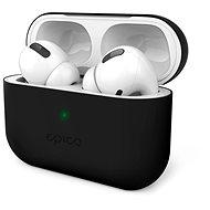 Epico Silicone Cover AirPods Pro černá - Pouzdro na sluchátka