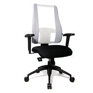 TOPSTAR Lady Sitness Deluxe bílo/černá - Kancelářská židle
