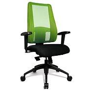 TOPSTAR Lady Sitness Deluxe zeleno/černá - Kancelářská židle