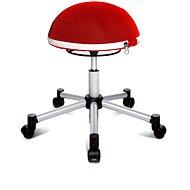 TOPSTAR Sitness Half Ball červená - Kancelářská židle