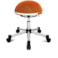 TOPSTAR Sitness Half Ball oranžová - Kancelářská židle