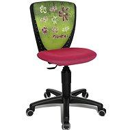 TOPSTAR S´COOL NIKI motiv květiny - Dětská židle