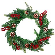 Vánoční dekorativní věnec typ 600-30204 - Vánoční ozdoby