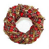 Vánoční dekorativní věnec typ 600-43577 - Vánoční ozdoby