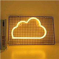 EUROLAMP Neonový mrak, 29,5x18,2x1,5 cm - Dekorativní osvětlení