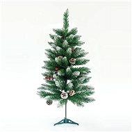 EUROLAMP Vánoční strom, zasněžená jedle 150 cm Berry - Vánoční stromek