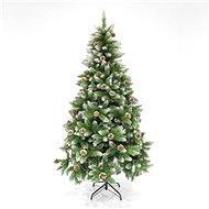 EUROLAMP Vánoční strom jedle s šiškami, 1,80 m - Vánoční stromek