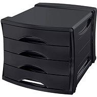 ESSELTE Europost Vivida černý - Zásuvkový box