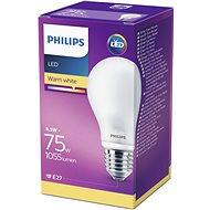 Philips LED Classic 8.5-75W, E27, Matná, 2700K - LED žárovka