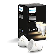 Philips Hue White Ambiance 5.5W GU10 set 2ks - LED žárovka