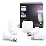 Philips Hue White and Color ambiance 10W E27 starter kit - LED žárovka