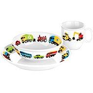 Tescoma Jídelní souprava 3ks BAMBINI - autíčka - Dětská jídelní sada
