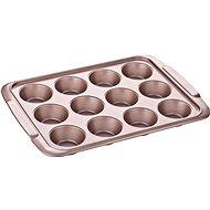 Tescoma Forma 12 muffinů DELÍCIA GOLD 39x28cm 623560 - Pečící forma