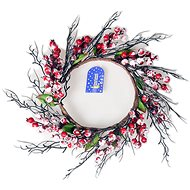 EverGreen Wreath with berries, pr. 35 cm, red-ice