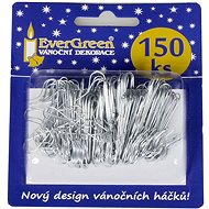 EverGreen Hook for decorations approx. 150 pcs, silver - Christmas decorations