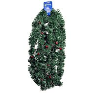 EverGreen® Chain width 9 cm with berries, length 600 cm, colour light green - Christmas decorations