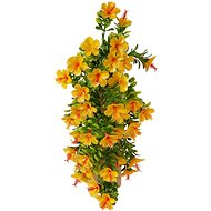 EverGreen Hibiscus Plastic x 5, Height of 40cm, Colour Yellow - Artificial Flower