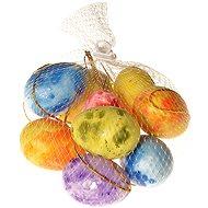 EverGreen Egg Thread x 9 pcs, Height: 5cm, Mesh, Colour: Multicoloured - Decoration