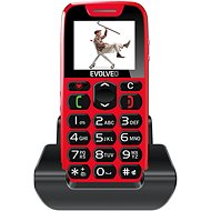 EVOLVEO EasyPhone červený - Mobilní telefon