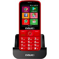 EVOLVEO EasyPhone AD Red - Mobile Phone