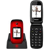 EVOLVEO EasyPhone FD červený - Mobilní telefon