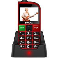 EVOLVEO EasyPhone FM červená - Mobilní telefon