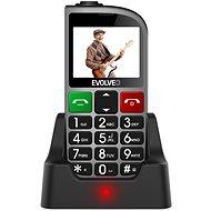 EVOLVEO EasyPhone FM stříbrná - Mobilní telefon