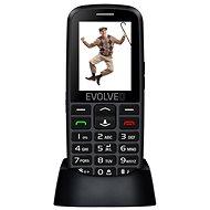 EVOLVEO EasyPhone EG černá - Mobilní telefon