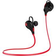 EVOLVEO SportLife XS3 červené/černé - Sluchátka s mikrofonem