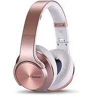 EVOLVEO SupremeSound E9 růžová/bílá - Sluchátka s mikrofonem