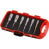 EXTOL PREMIUM Sockets for Drills, Set of 6 pcs, CrV - Spanners