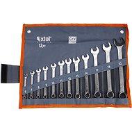 EXTOL PREMIUM 6333 Set of Combination Spanners 12 pcs - Wrench Set