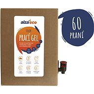 AlzaEco Washing Gel Color 3l (60 Washes) - Eco-Friendly Gel Laundry Detergent