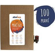 AlzaEco Washing Gel Color 5l (100 Washes) - Eco-Friendly Gel Laundry Detergent